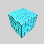 Cube (modular) 3d model