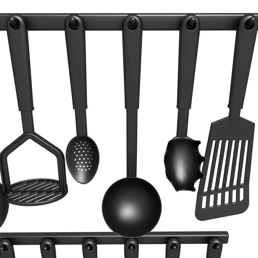 調理器具01 royalty-free 3d model - Preview no. 3