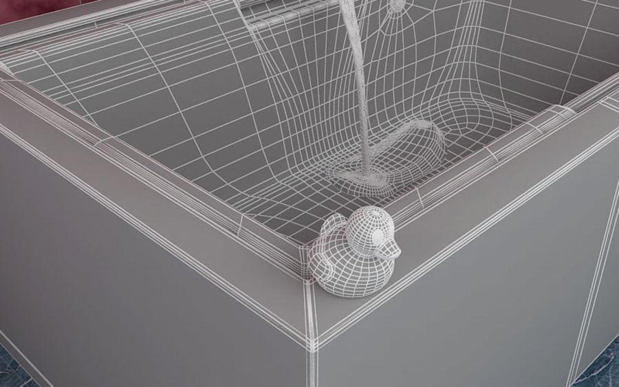 Bañera royalty-free modelo 3d - Preview no. 6