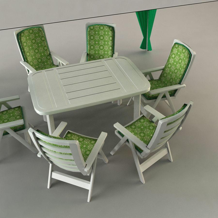 PavilionTerasa royalty-free 3d model - Preview no. 6
