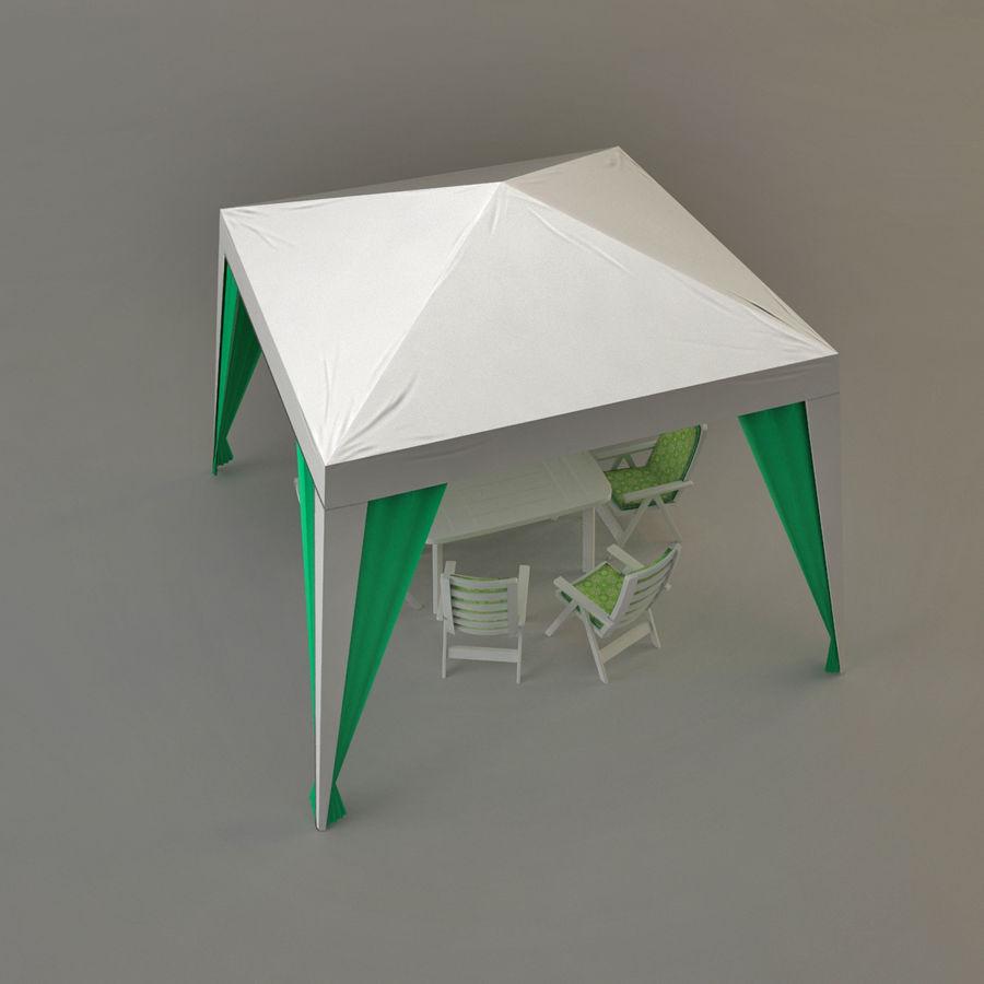 PavilionTerasa royalty-free 3d model - Preview no. 2