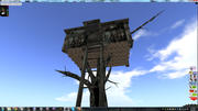 Camo Treehouse 3d model
