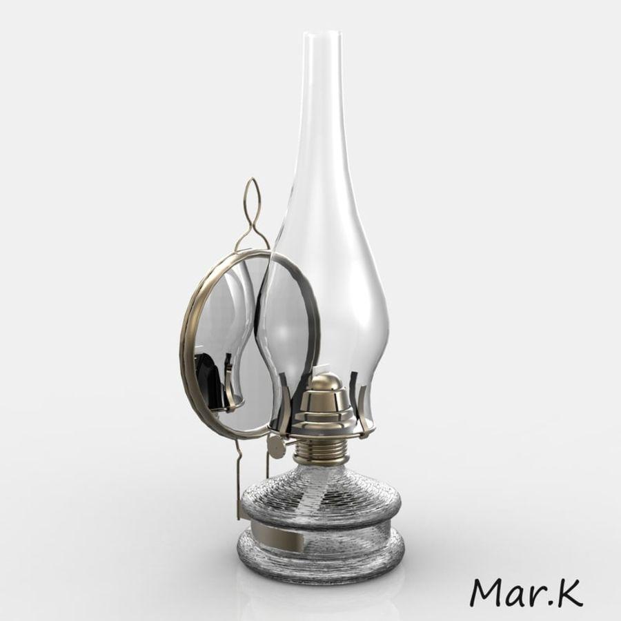 Kerosene lamp royalty-free 3d model - Preview no. 2