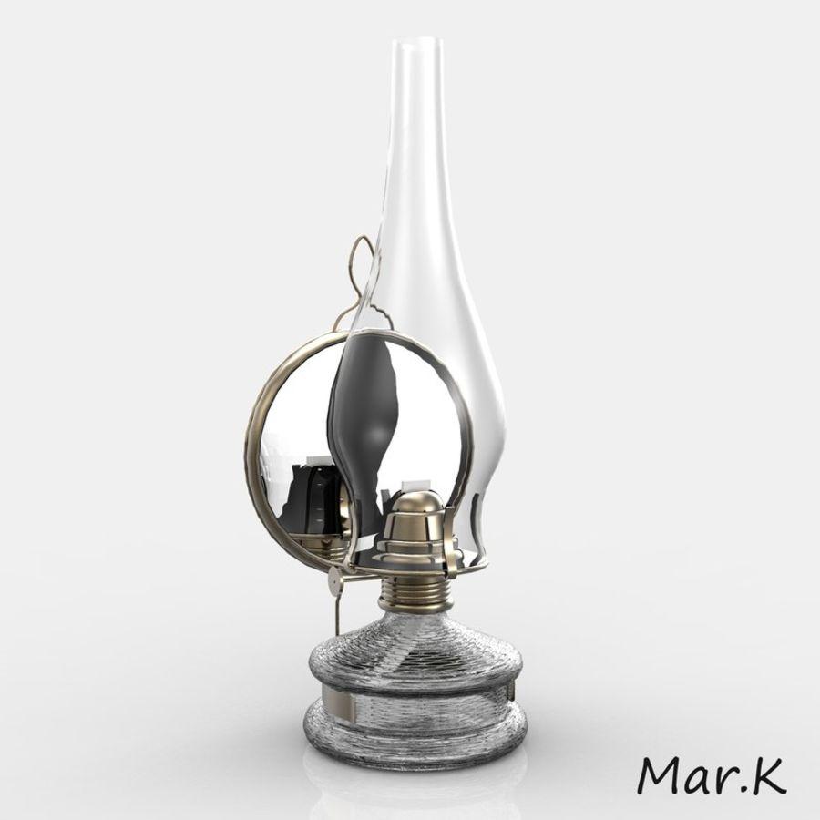 Kerosene lamp royalty-free 3d model - Preview no. 4