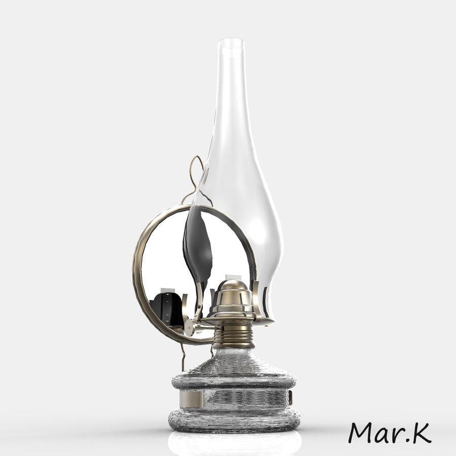 Kerosene lamp royalty-free 3d model - Preview no. 1
