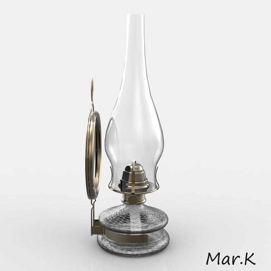 Kerosene lamp royalty-free 3d model - Preview no. 3