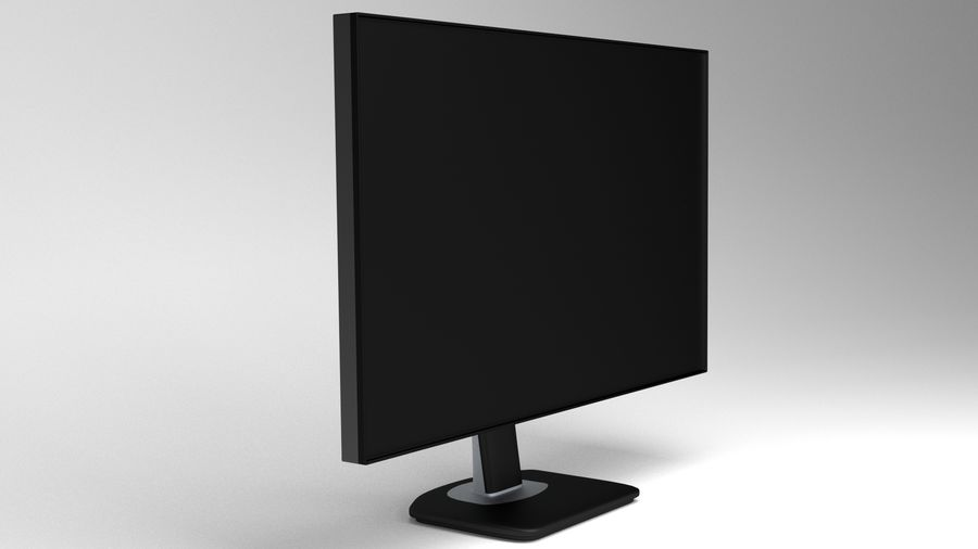 PC-Monitor royalty-free 3d model - Preview no. 6