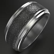 Keltischer Ring 4 3d model