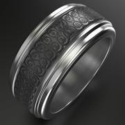 Celtic Ring 4 3d model