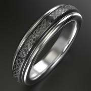Keltischer Ring 5 3d model