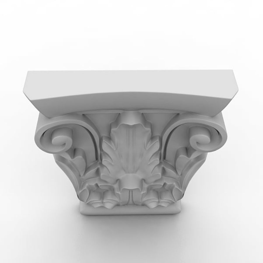 建築要素81 royalty-free 3d model - Preview no. 3