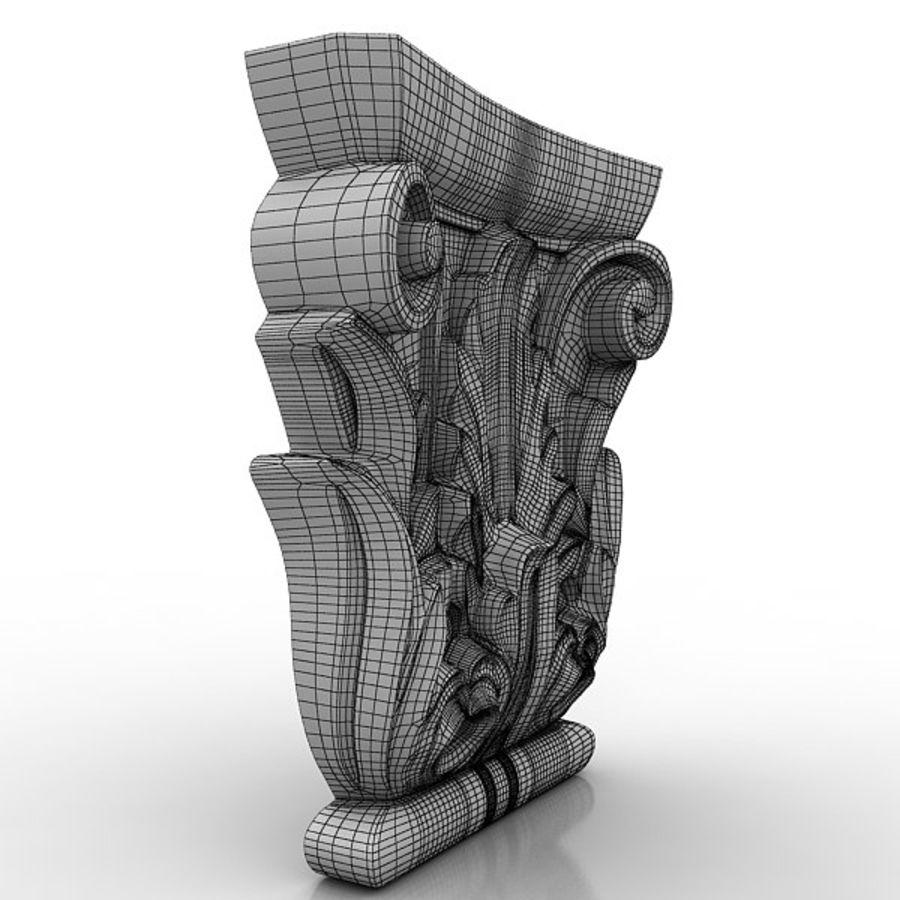 建築要素81 royalty-free 3d model - Preview no. 5