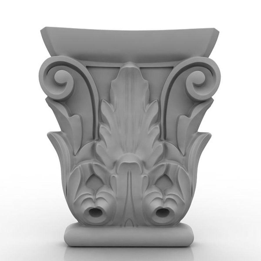 建築要素81 royalty-free 3d model - Preview no. 1