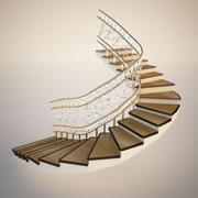 经典楼梯 3d model