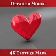 Coleção Hearts 3d model