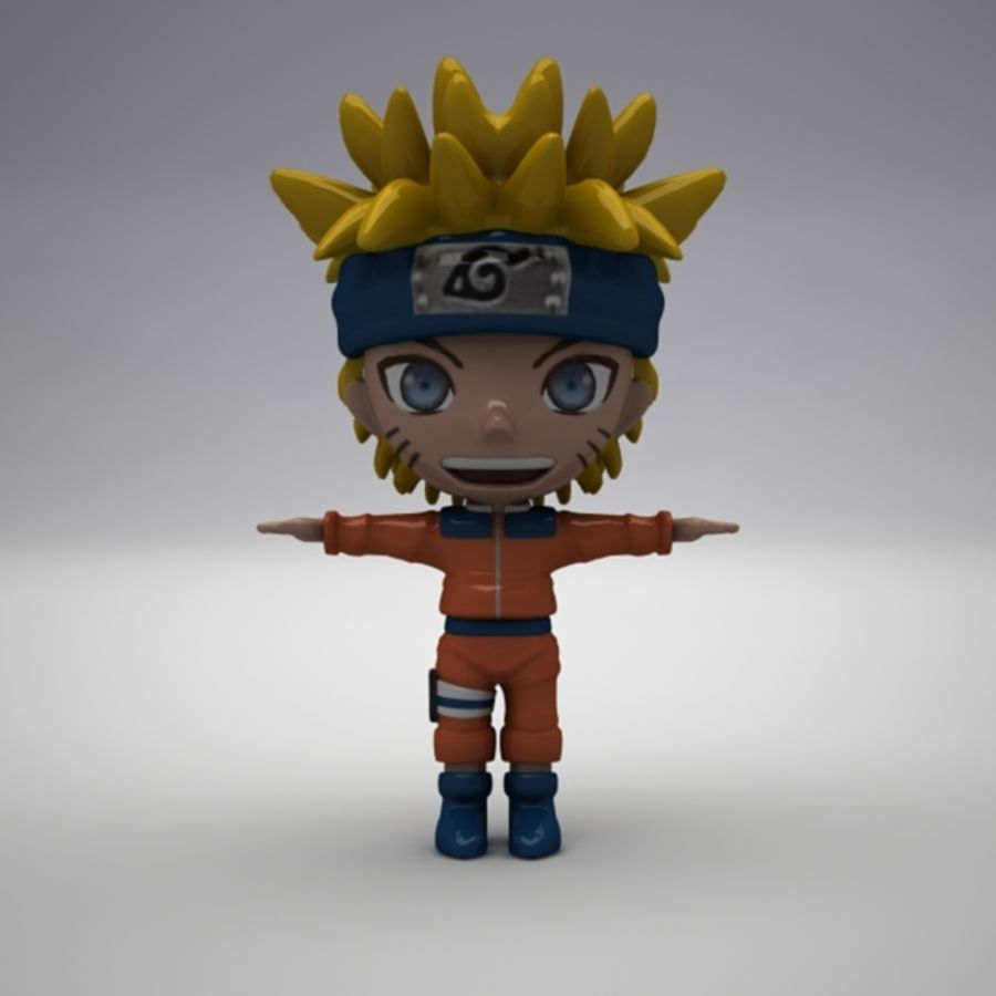 Naruto Uzumaki royalty-free 3d model - Preview no. 1