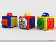 Fisher-Price blocks 3d model