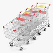 Einkaufswagen 3d model