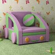 Sofa-samochód 3d model