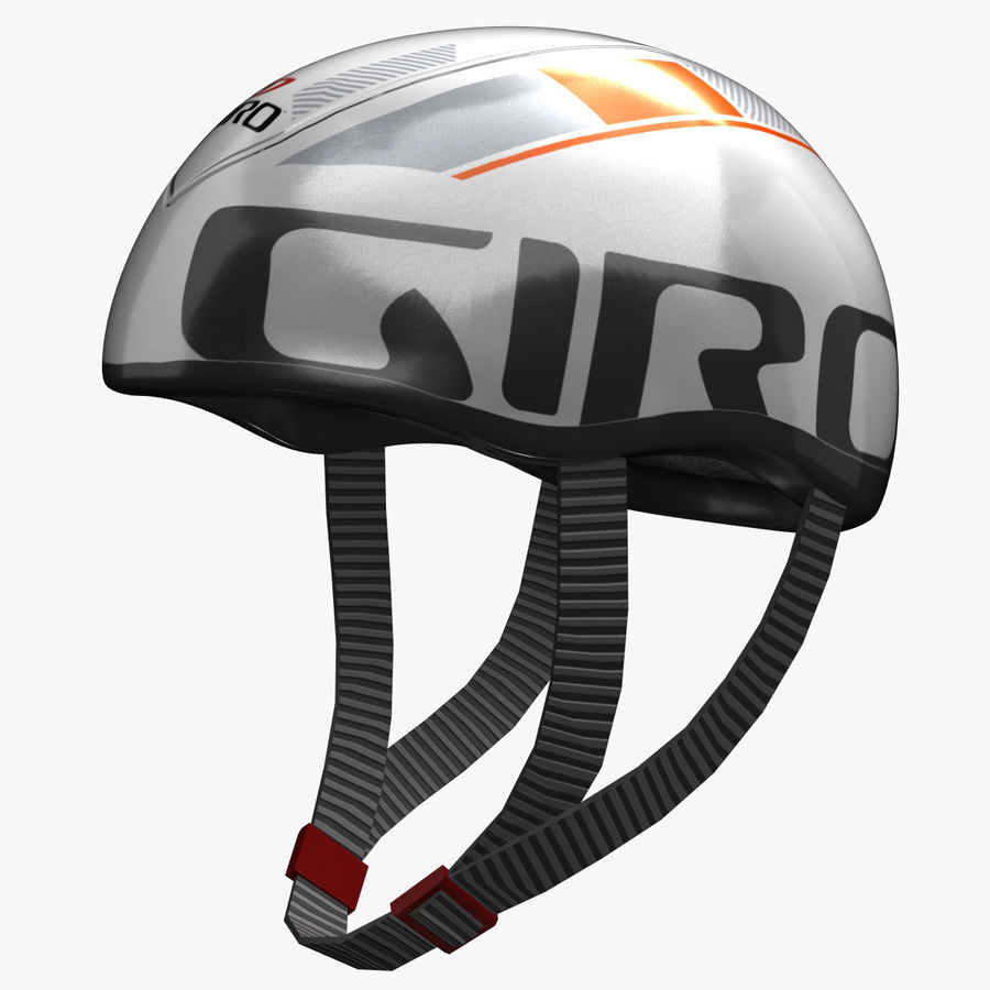 Bicycle Helmet royalty-free 3d model - Preview no. 1