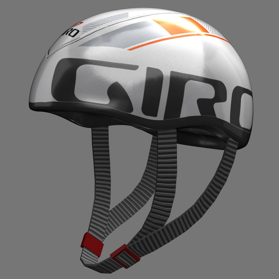 Bicycle Helmet royalty-free 3d model - Preview no. 2