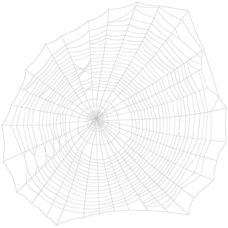 Teia de aranha royalty-free 3d model - Preview no. 2
