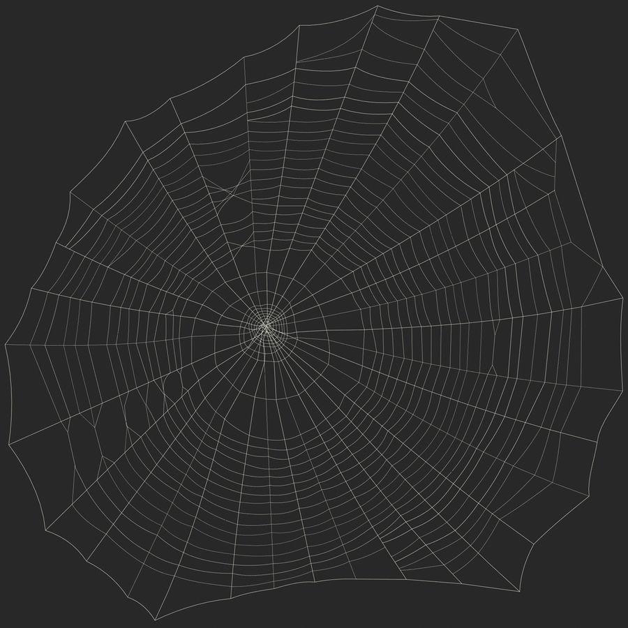 Teia de aranha royalty-free 3d model - Preview no. 10