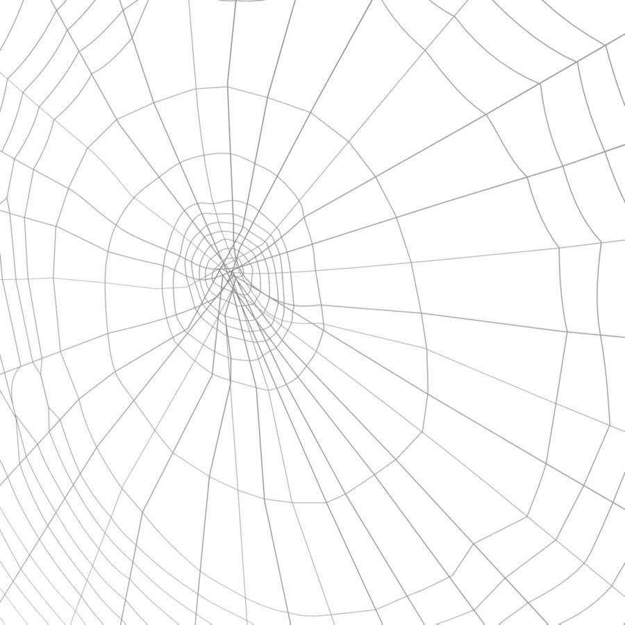 Teia de aranha royalty-free 3d model - Preview no. 7