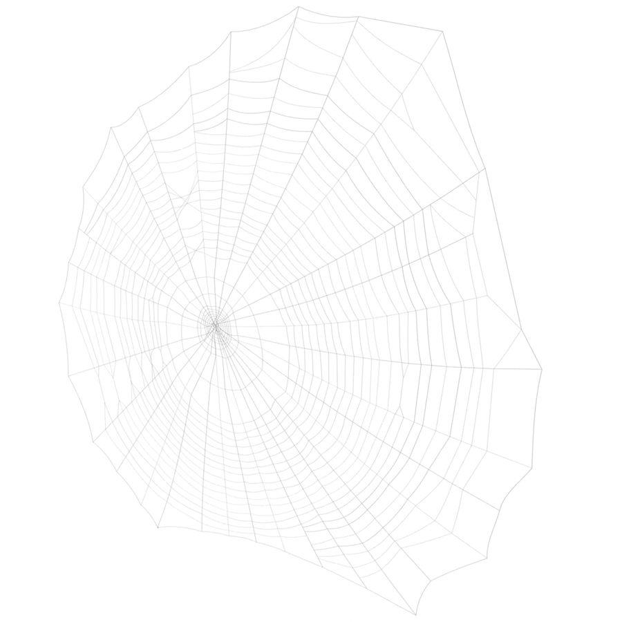 Teia de aranha royalty-free 3d model - Preview no. 6