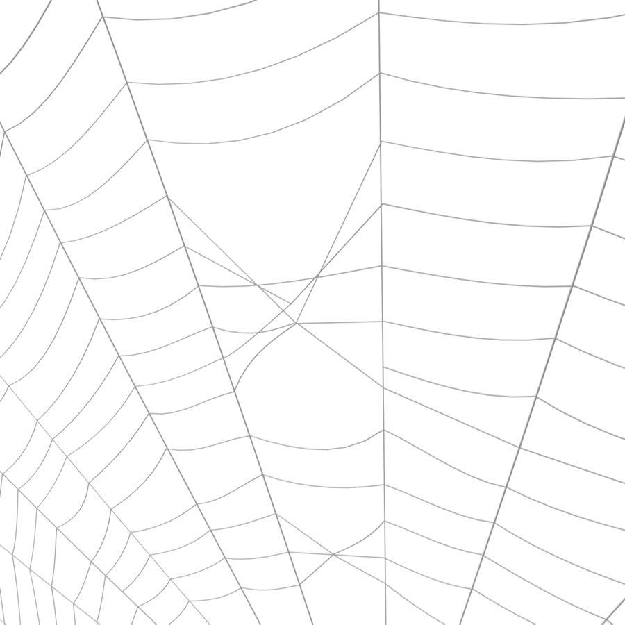 Teia de aranha royalty-free 3d model - Preview no. 9