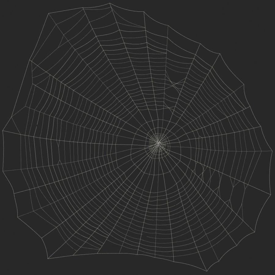 Teia de aranha royalty-free 3d model - Preview no. 11
