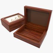 Boîte à accessoires en bois 3d model