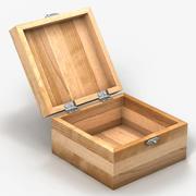 Małe pudełko na zmiany 3d model