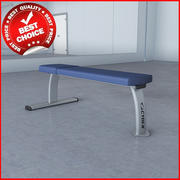 Free Weights Flat Bench 3d model