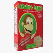 Caja de cereales modelo 3d