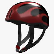 サイクルヘルメット 3d model