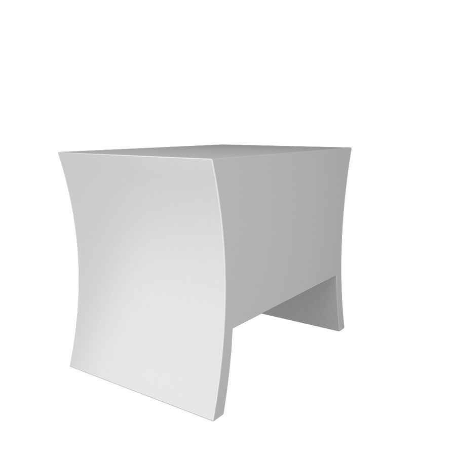 table de chevet, table de chevet royalty-free 3d model - Preview no. 5