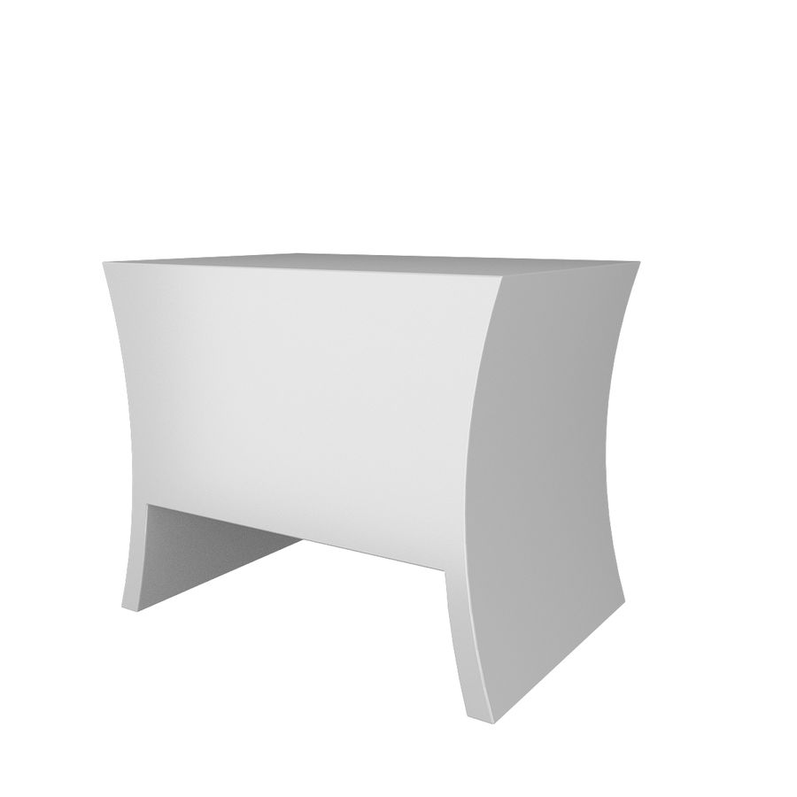 table de chevet, table de chevet royalty-free 3d model - Preview no. 4
