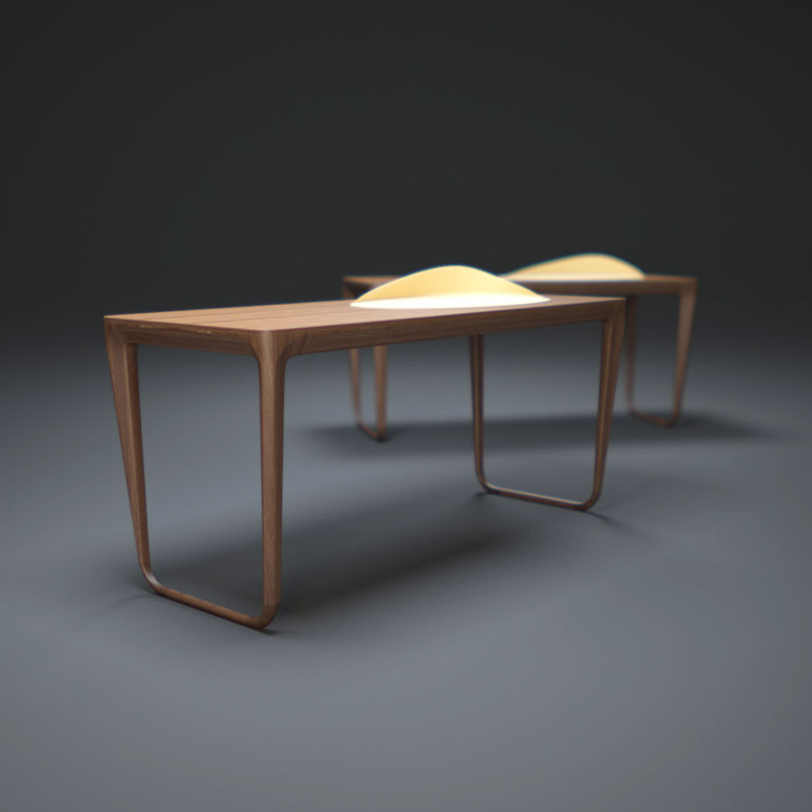 Pazar-Sabah-Yazma-Desk royalty-free 3d model - Preview no. 1