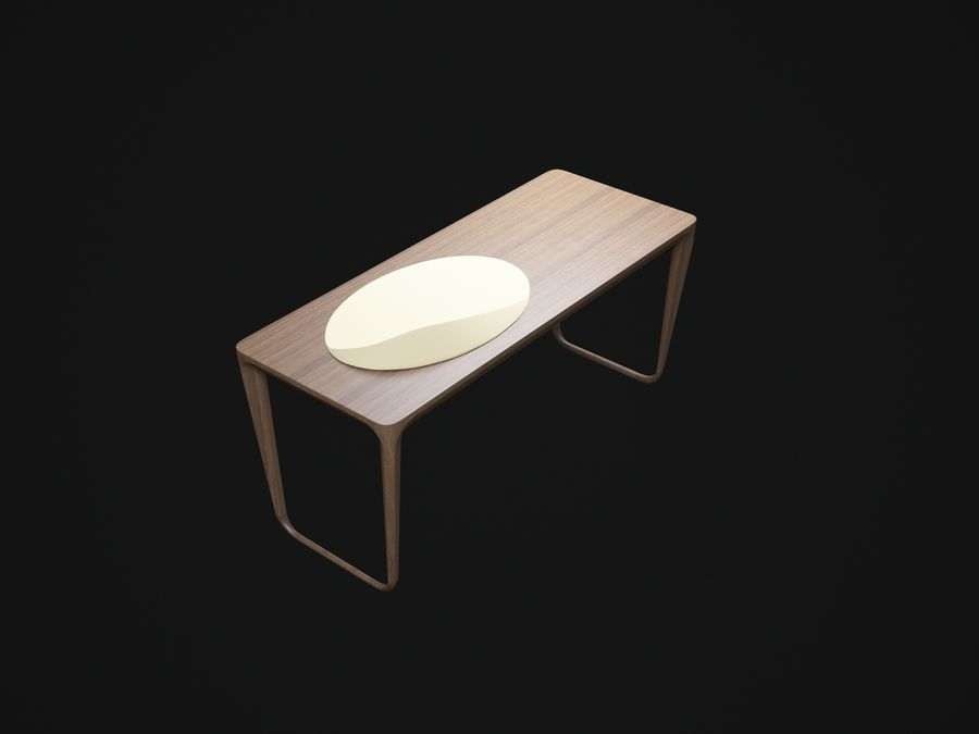 Pazar-Sabah-Yazma-Desk royalty-free 3d model - Preview no. 4