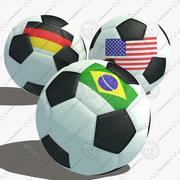 Ballon de football 3d model