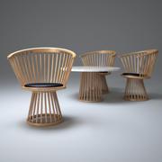 Krzesło-wentylator-jadalnia 3d model