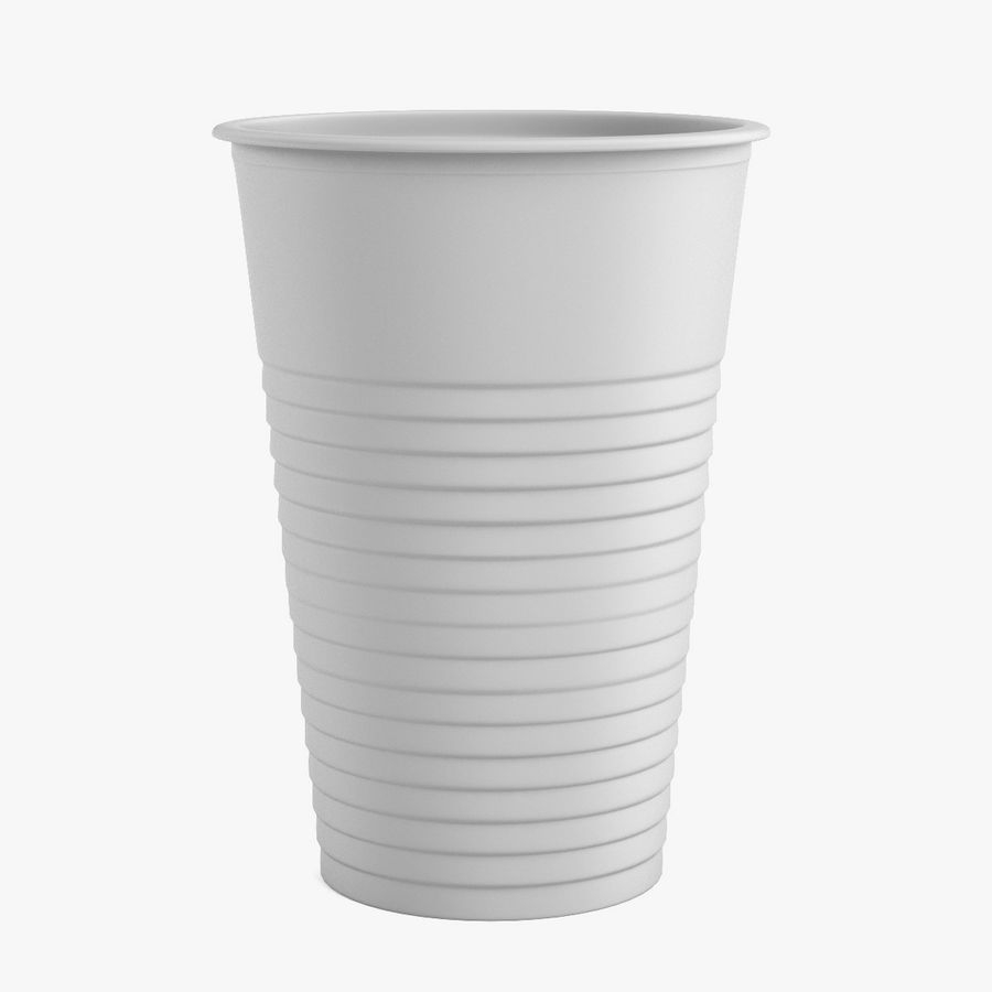 Plastic Cup royalty-free 3d model - Preview no. 1