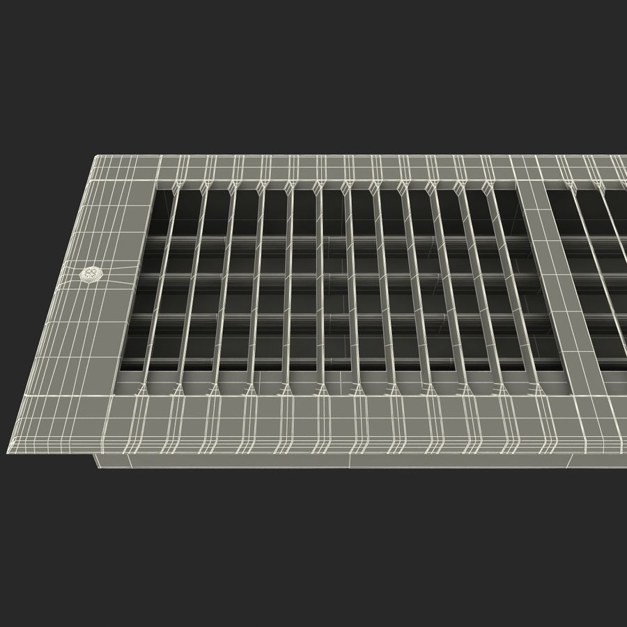 Home Air Vent royalty-free 3d model - Preview no. 18