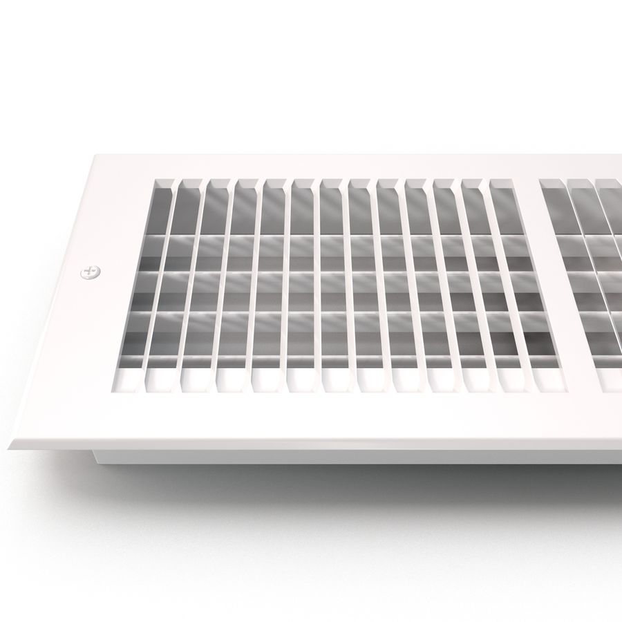 Home Air Vent royalty-free 3d model - Preview no. 11