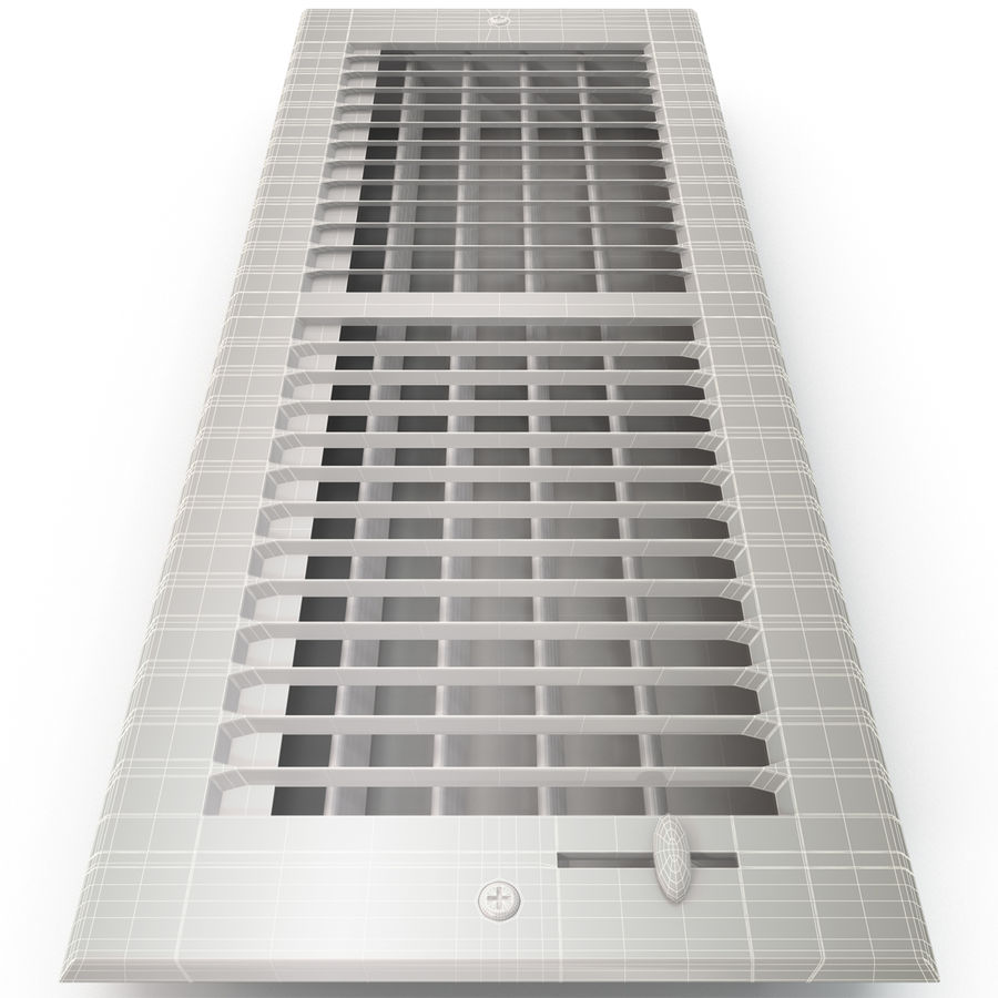 Home Air Vent royalty-free 3d model - Preview no. 13