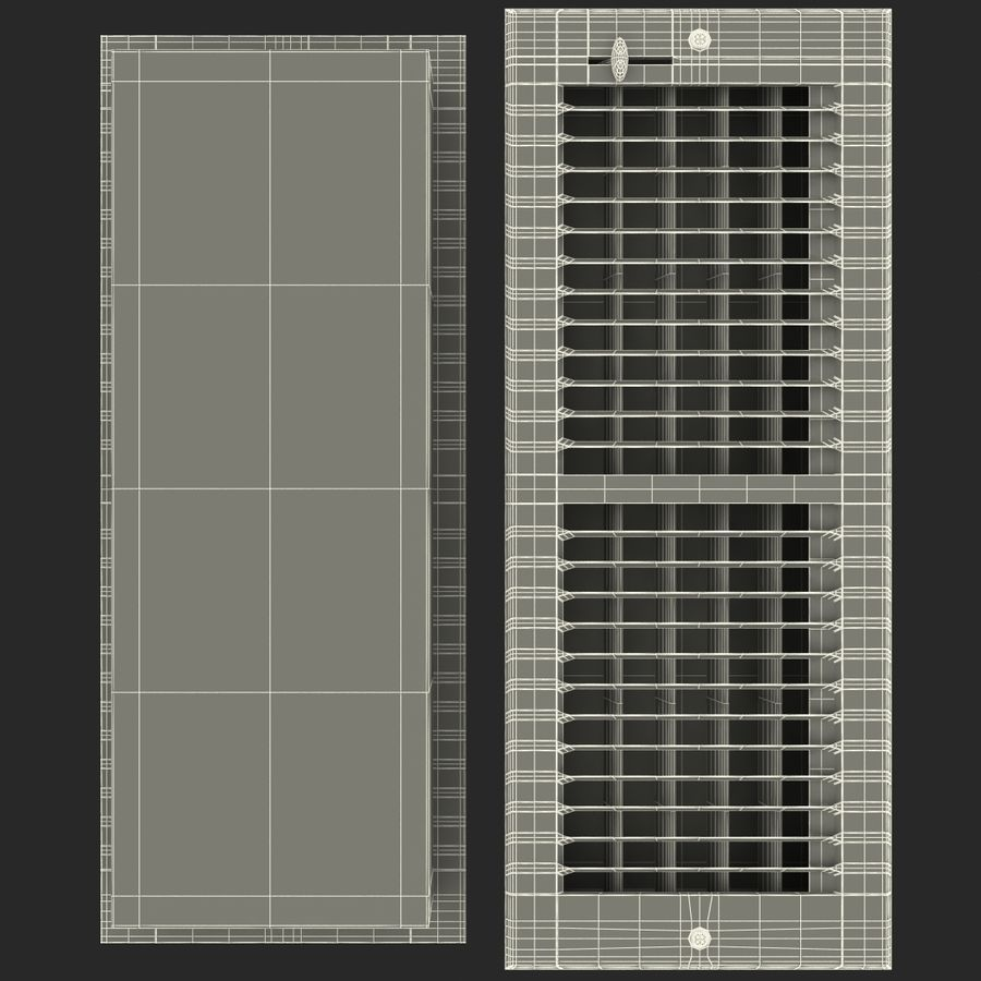 Home Air Vent royalty-free 3d model - Preview no. 15