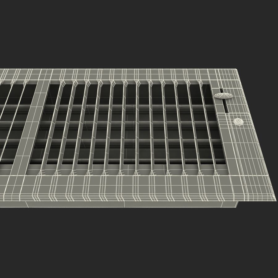 Home Air Vent royalty-free 3d model - Preview no. 19