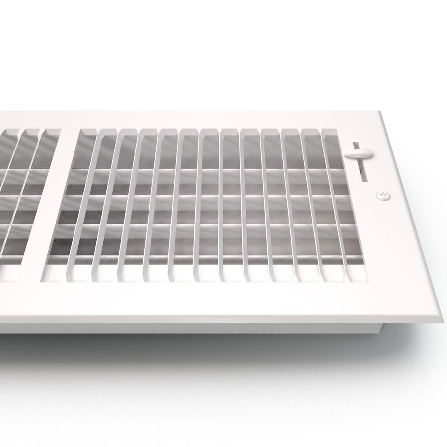 Home Air Vent royalty-free 3d model - Preview no. 12