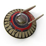 玩具飞碟 3d model